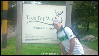 Venus Entrance at MacRitchie Reservoir