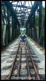 Old railway tracks - makes a good photo opp