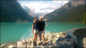 Our final pits stop at Lake Louise before the journey back to Vancouver and Singapore.