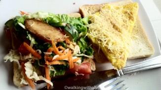 'Club' sandwich. I opened it up.