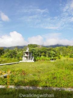 A burial site near Mas.