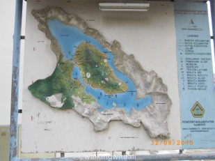 This was the map at the so called Visitor's Centre.