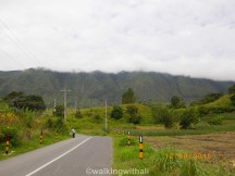 This is the main road between Tomok and Ambarita. The best condition I've seen.