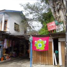 Plenty of souvenir shops selling about the same things around the area. Near King's Tomb.