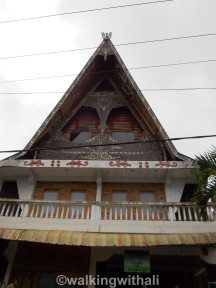 A 'kindergarten' with Batak style structure.