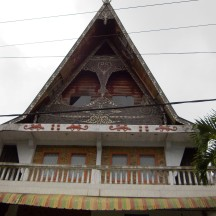 A 'kindergarten' with Batak style structure.