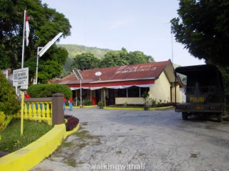 The police station.