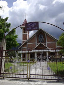 One of the churches along the short cut from Mas to Tuk Tuk.