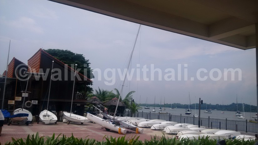 Sailing in Singapore